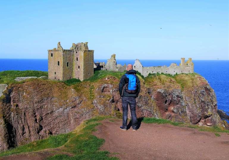 Les ruines du château de Dunnotar