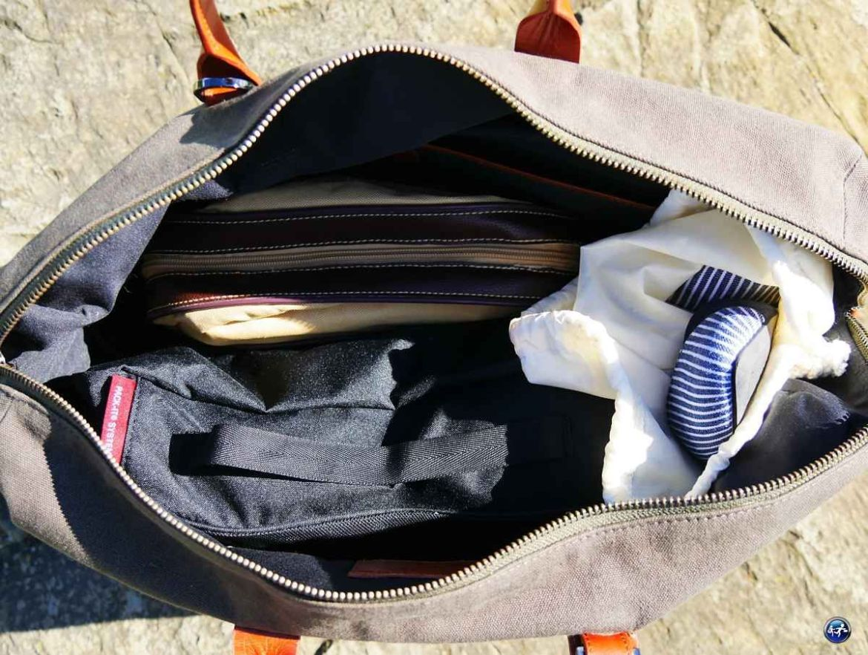 Organiser ses vêtements dans son sac de voyage