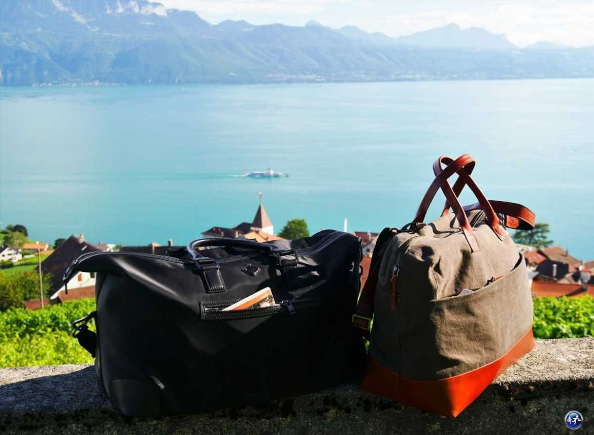 bien faire ses bagages sacs week-end blog voyage suisse cosy on holidays again