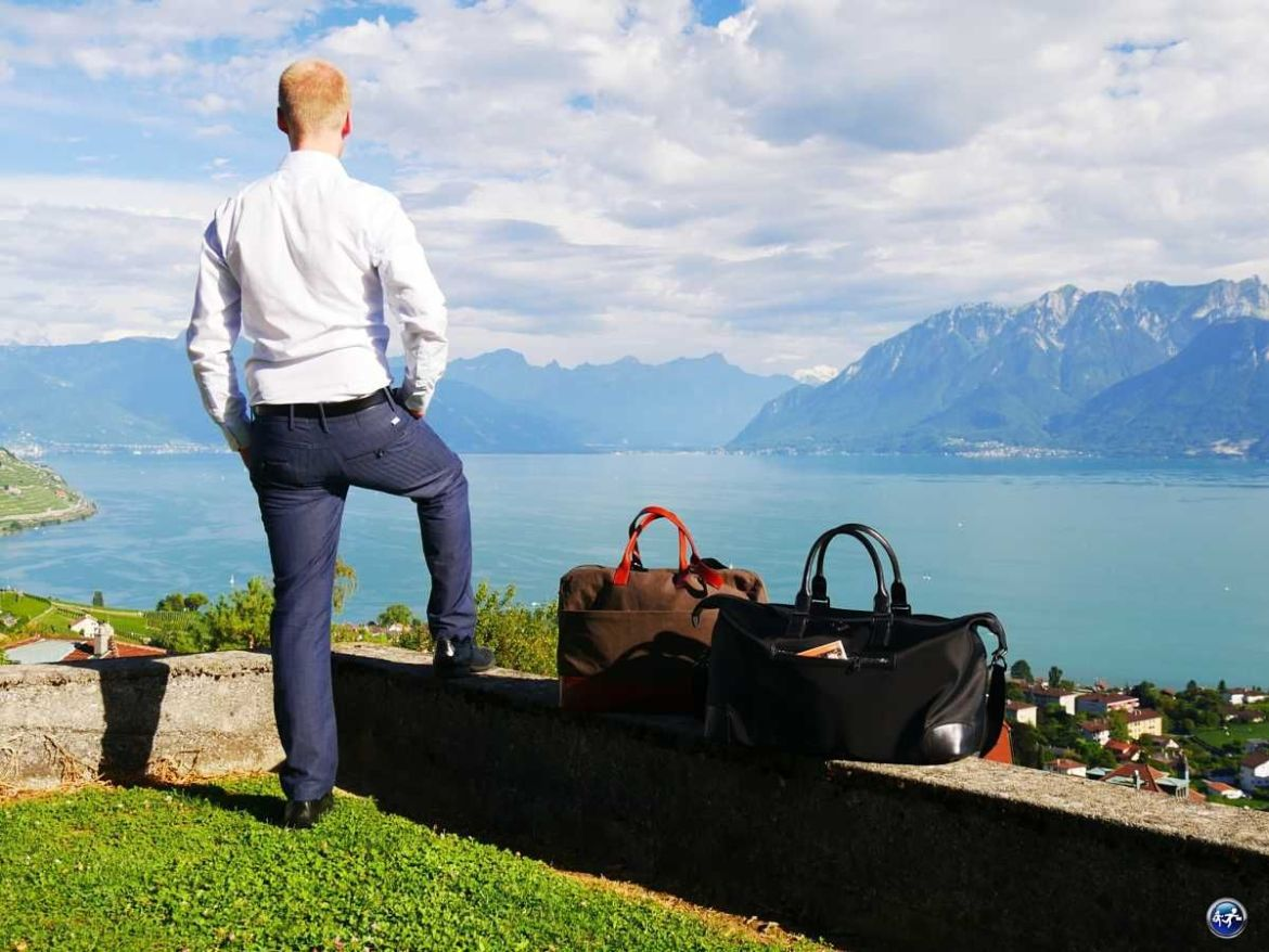 bien faire ses bagages sacs week-ends chics blog voyage suisse cosy on holidays again