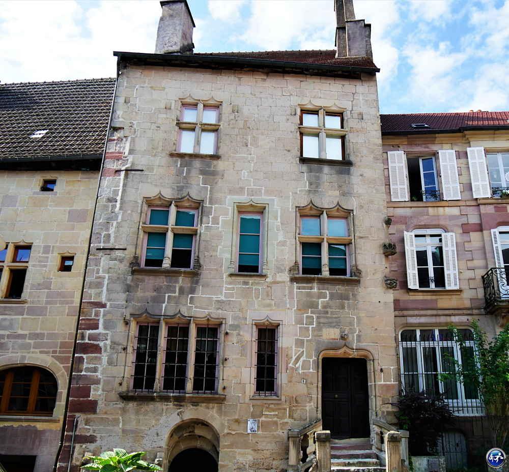 Jolie maison de Luxeuil-les-Bains dans les Vosges du Sud