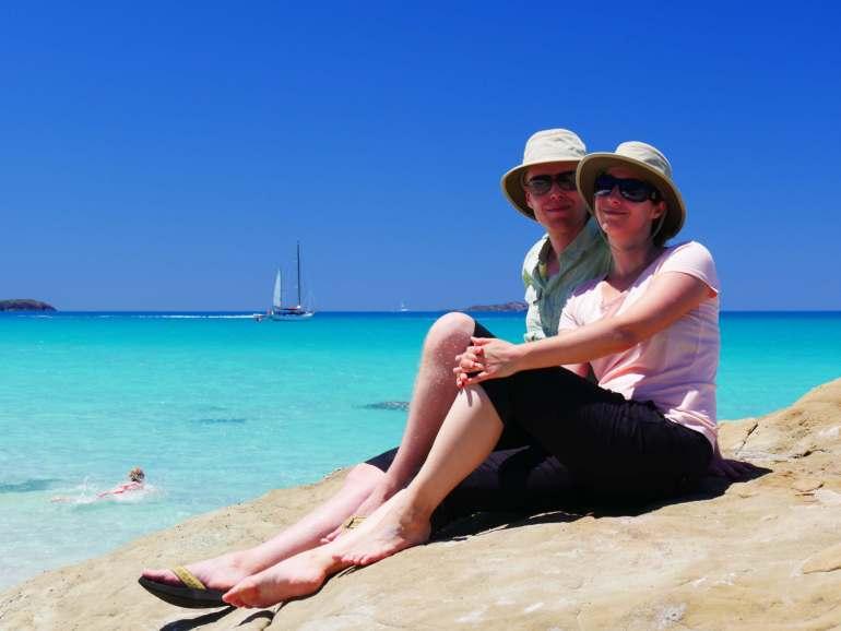 Belle vie dans les iles Whitsundays Queensland