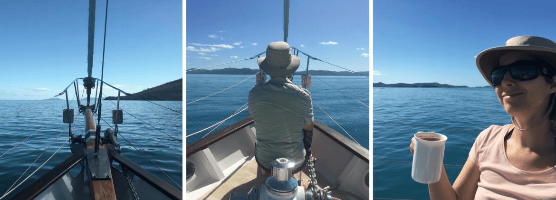 En croisière à travers les iles Whitsundays