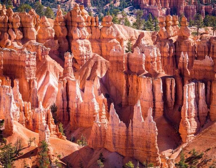 Hoodoos de Bryce Canyon