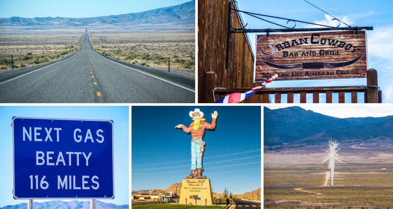 Paysages et emblèmes typiques du Nevada