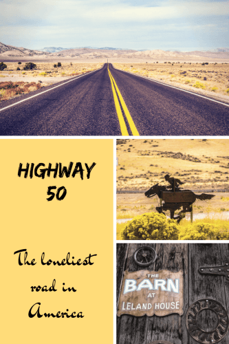 Route 50 Nevada, la plus solitaire des USA Pinterest