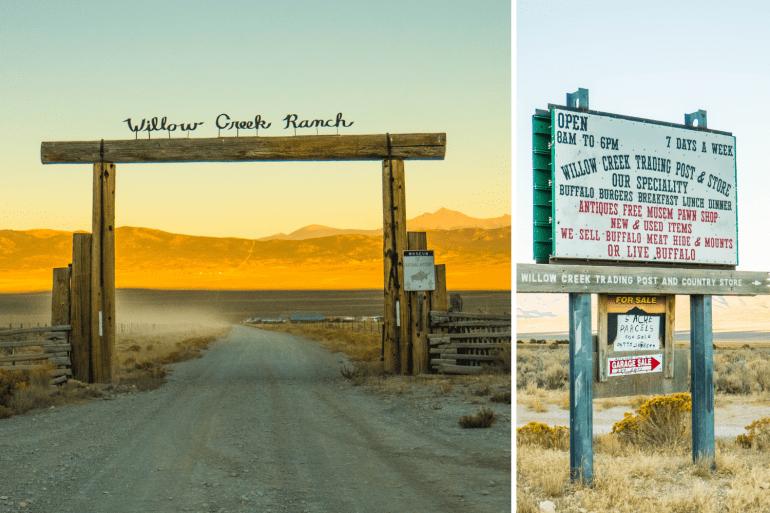 Willow creek Ranch près de Ely Nevada