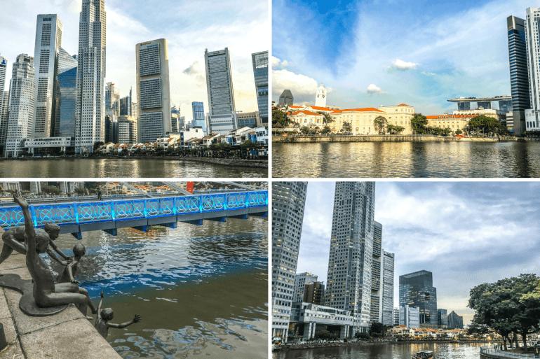 Clark Quay à visiter à Singapour