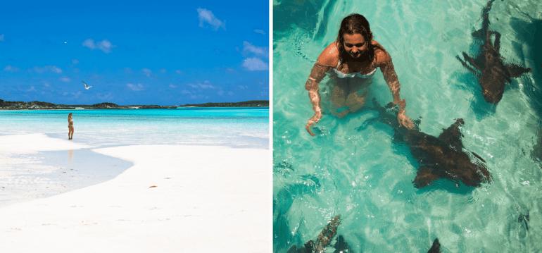 Archipel des Exumas iles paradisiaques Bahamas