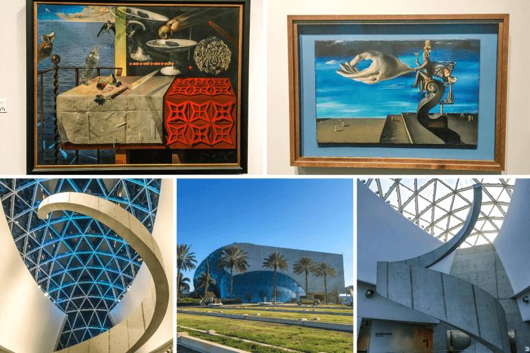 Visiter le musée Dali à St Petersburg en Floride