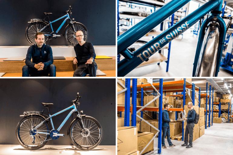 Visiter de la fabrique de vélo Tour de Suisse Rad