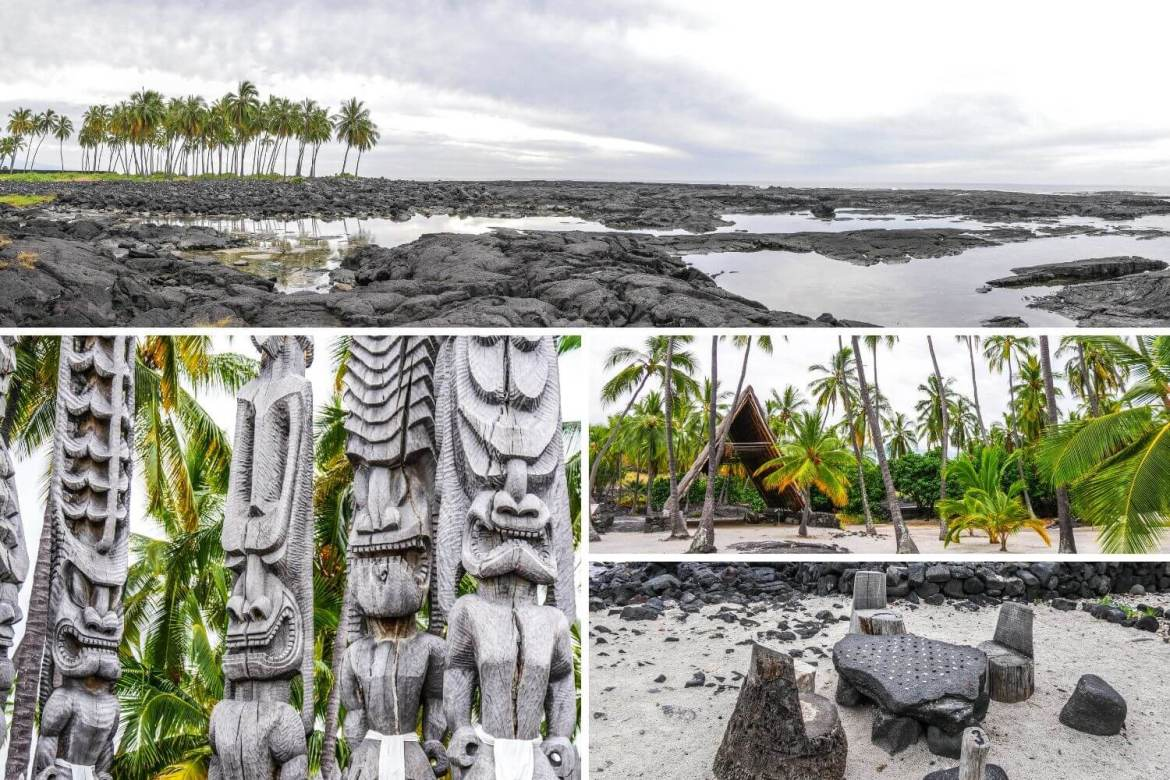 Pu'uhonua o Honaunau National Historical Park Big Island