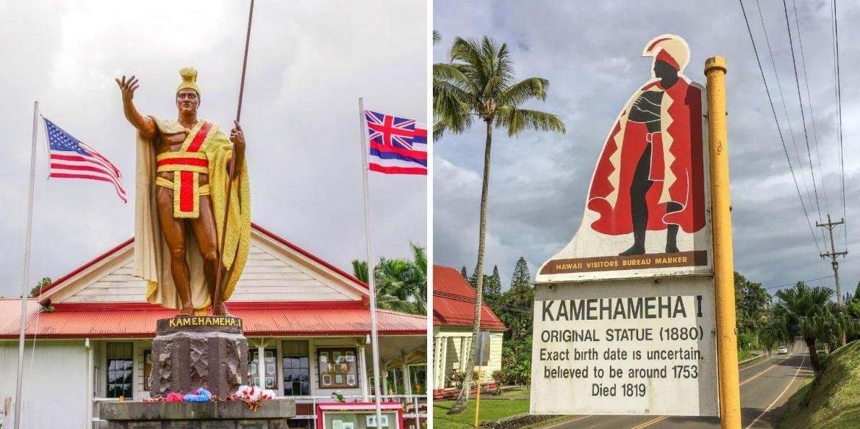 Statue de Kamehameha Kap'au