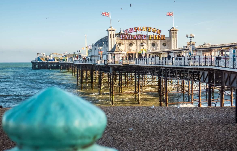 Pier de Brighton Sud Angleterre