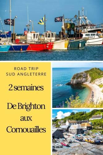 Road trip Sud Angleterre de Brighton aux Cornouailles Pinterest