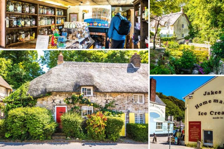 Visiter Lulworth Cove Dorset Sud Angleterre