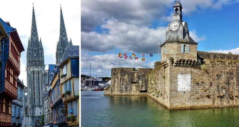 Visiter Quimper et Concarneau dans le Finistère