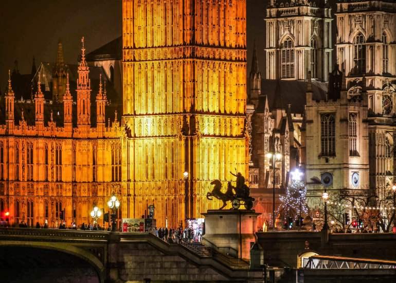Architecture de Westminster à Londres