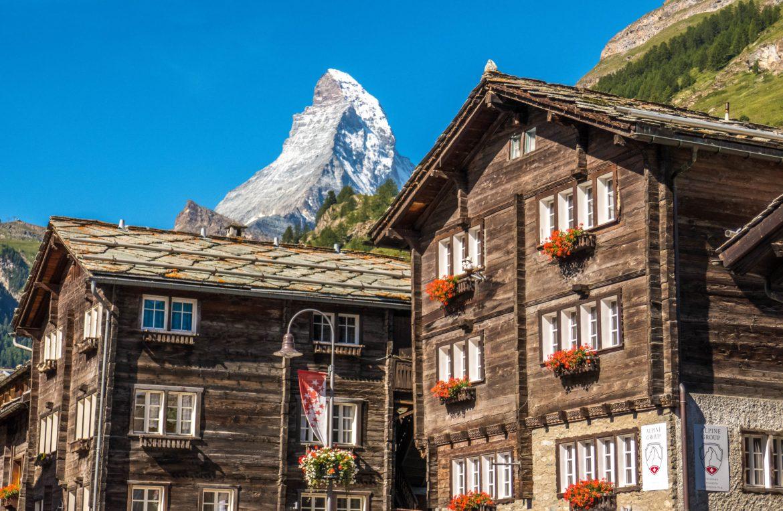 Balade à Zermatt et vue sur le Cervin