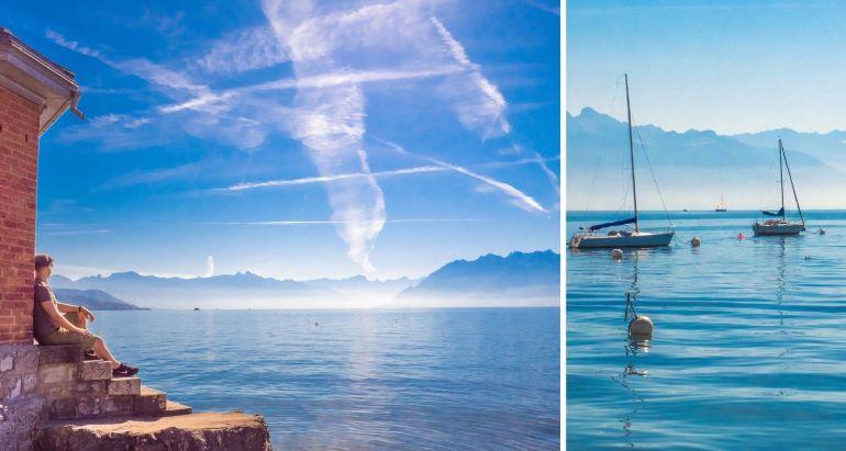 Balade au bord du Léman Lausanne