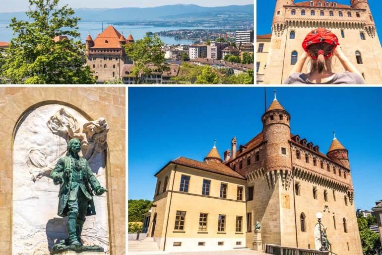 Château Saint-Mair dans la Cité à Lausanne