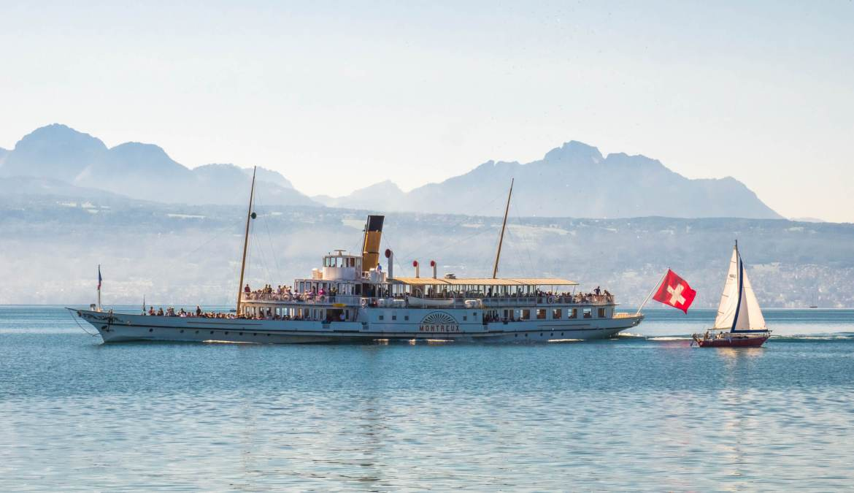 Croisière sur le Léman bateau Belle Epoque