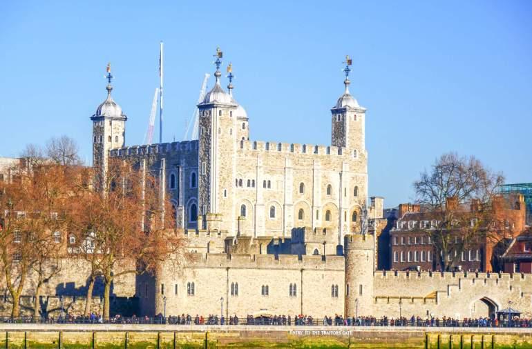 Visiter la Tour de Londres à l'UNESCO
