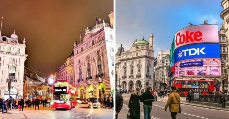 Piccadilly Circus le Time Square londonien