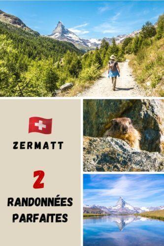 Randonnées Zermatt Pinterest