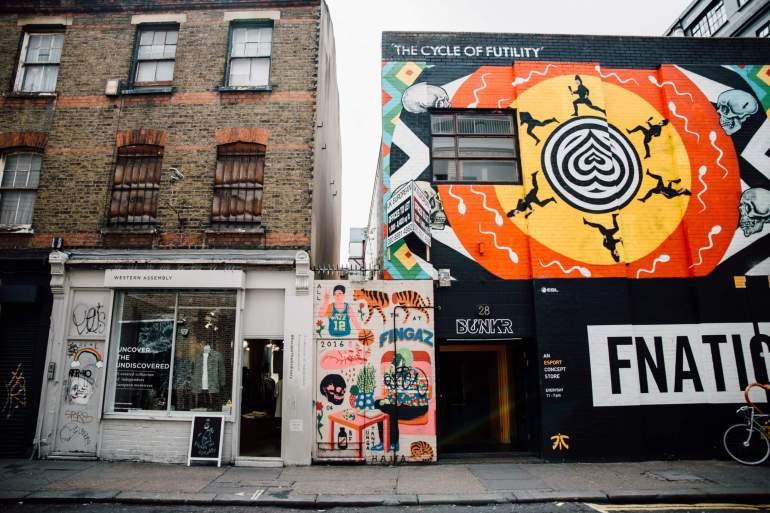 Visiter Shoreditch à Londres