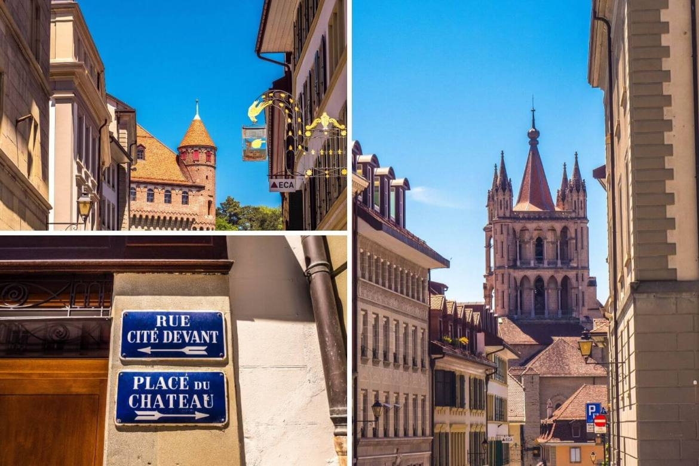Visiter la Cité Lausanne