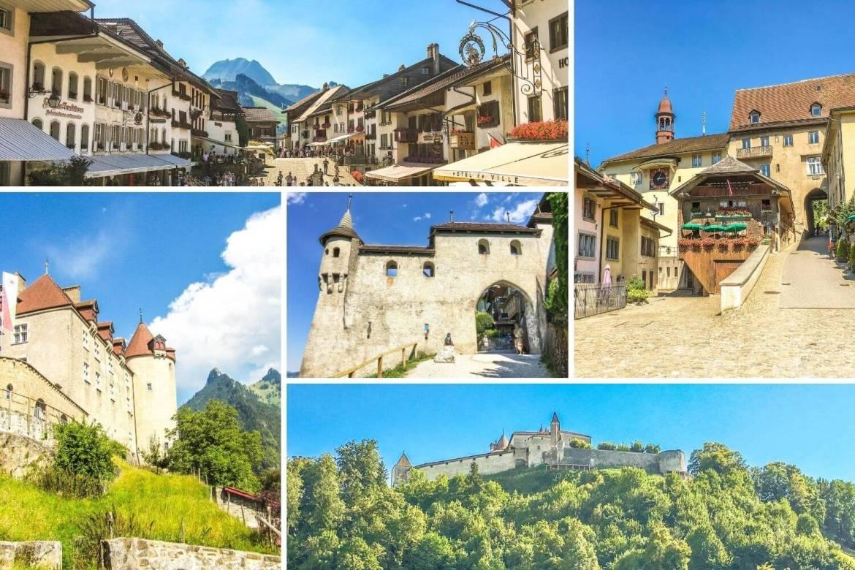 Visite Gruyères en week-end romantique en Suisse