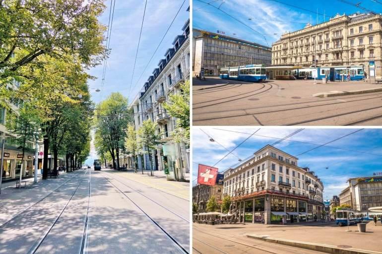 Arpenter la Banhofstrasse à Zurich