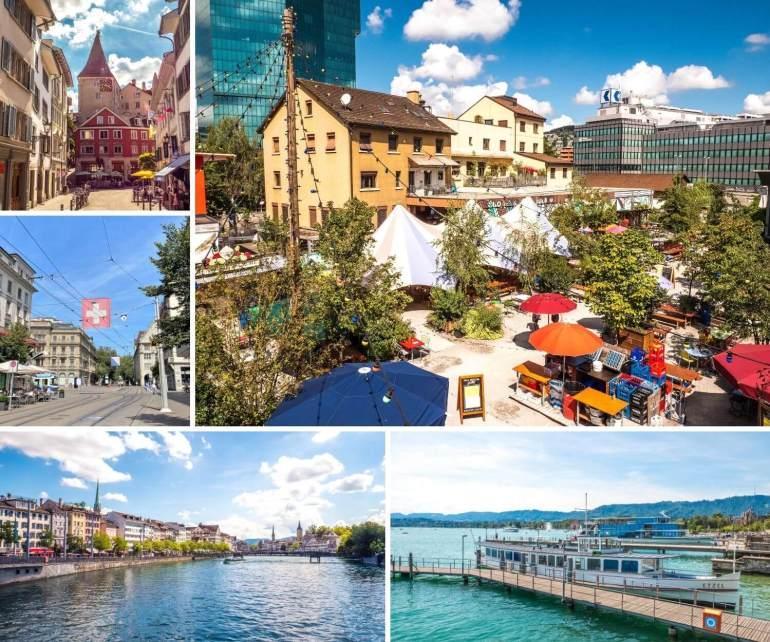 Incontournables à visiter à Zurich
