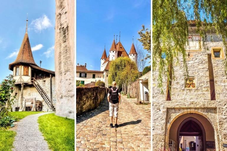 Visiter Thoune et les alentours Château de Thoune