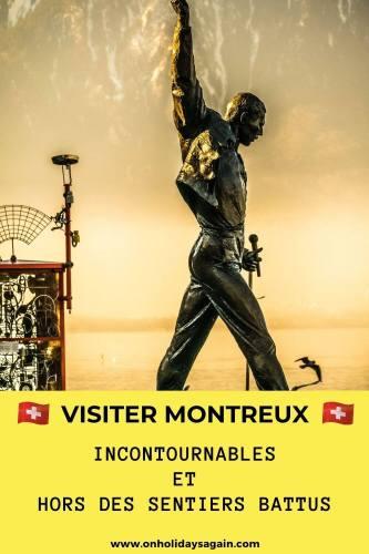 Visiter Montreux incontournables et hors des sentiers battus - Statue Mercury