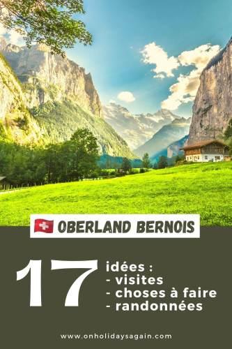 Oberland bernois 17 idées de visites