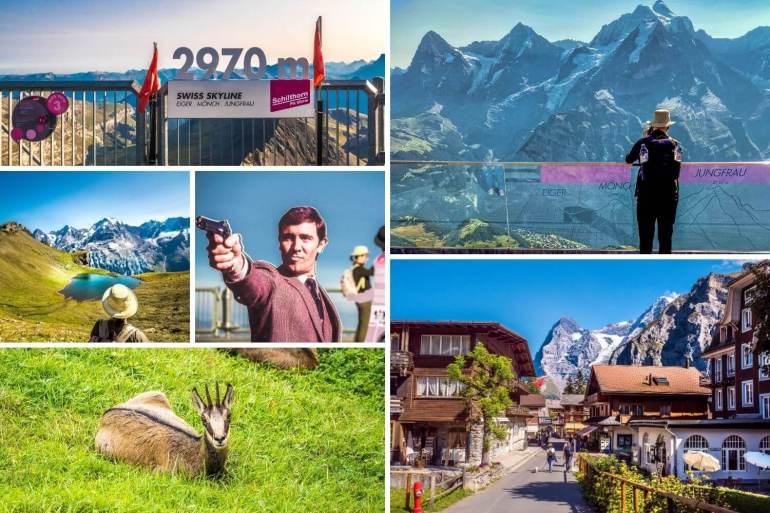 Visiter le Schilthorn Oberland bernois