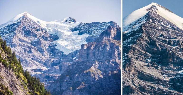 Glaciers Vallée Lauterbrunnen