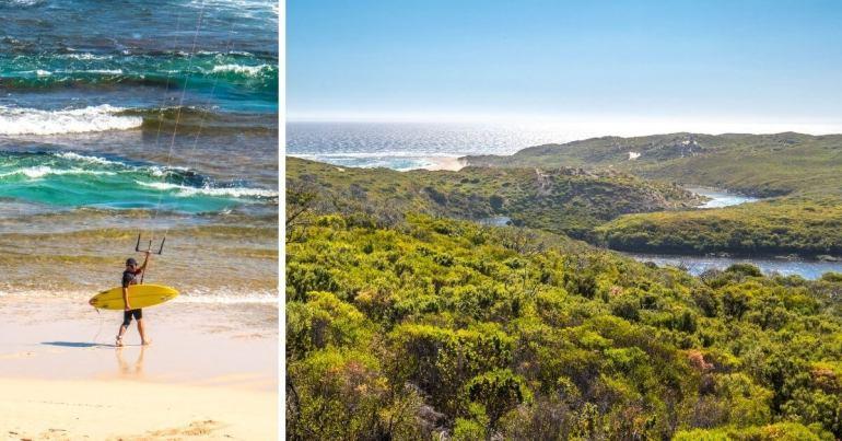 Margaret River Mouth Viewpoint côte ouest Australie
