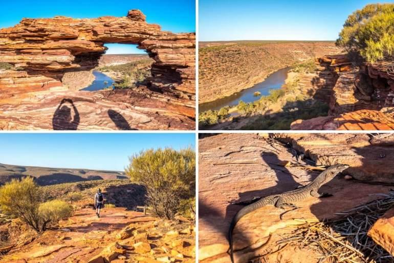 Parc national Kalbarri natures window côte ouest Australie