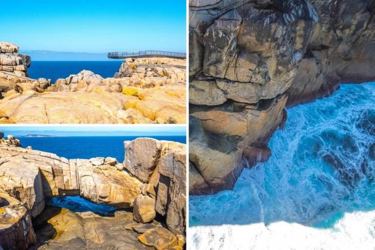 The Gap Natural Bridge Torndirrup National Park côte ouest Australie