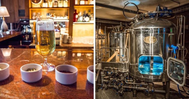 Dégustation bières Verbier week-end romantique Valais