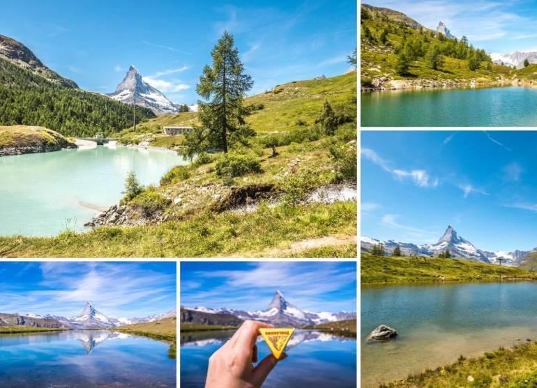 Randonnée 5 lacs Zermatt week-end romantique en Valais