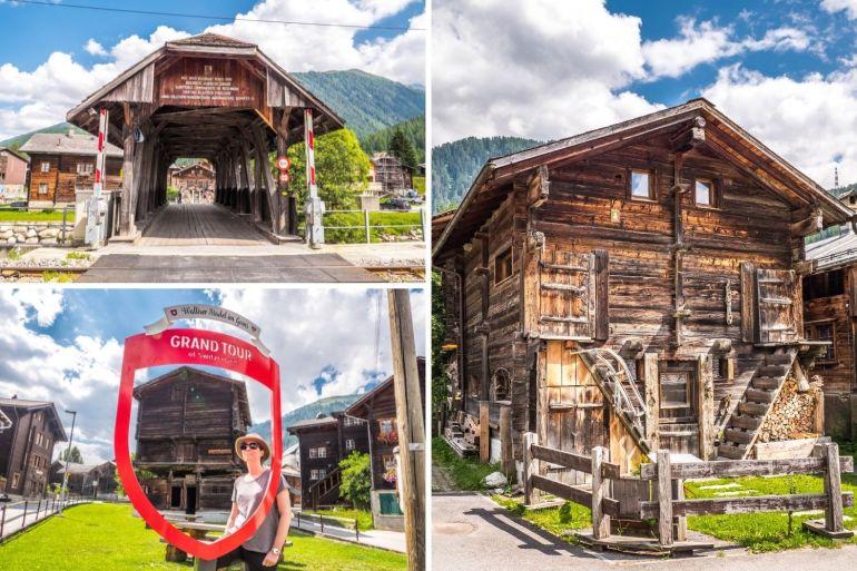 Reckingen Vallée Conches week-end romantique Valais