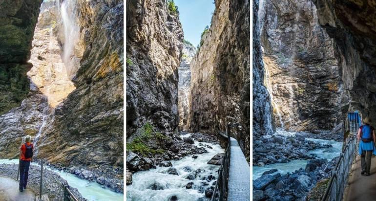 Gorges glacier Grindelwald_que faire