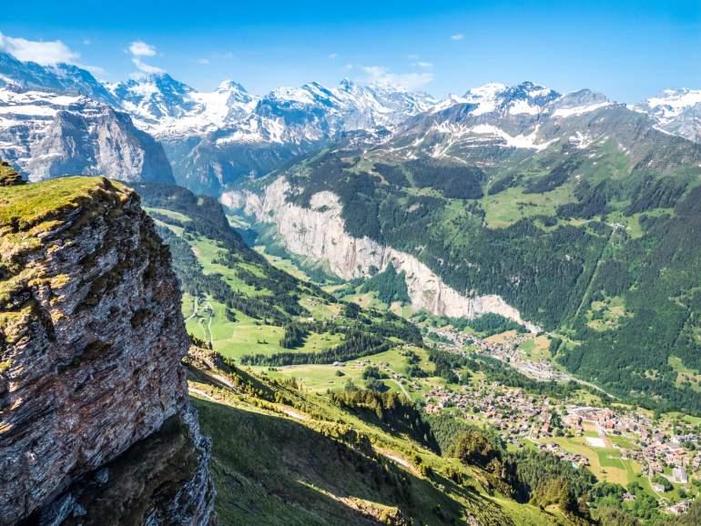 Maennliche vue sur Lauterbrunnen_Grindelwald que faire