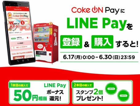 LINE Payとのキャンペーン