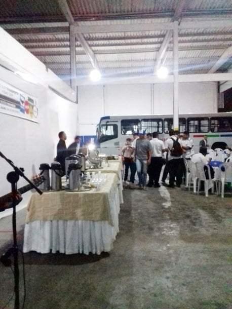 A Santa Maria também festejou a data com seus operadores