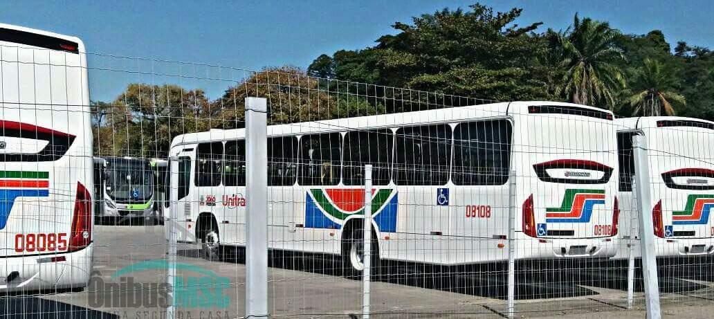 Tem mais ônibus chegando na Unitrans